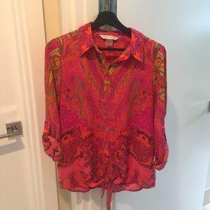 Peter Nygard beautiful blouse size small